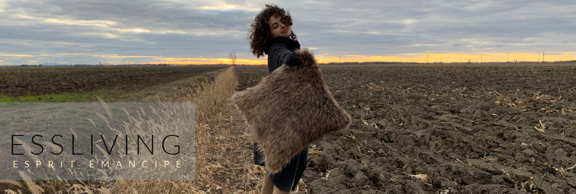 Faux Fur Fashion Pillows Wild Spirit